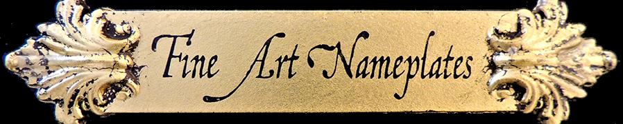 Fine Art Nameplates